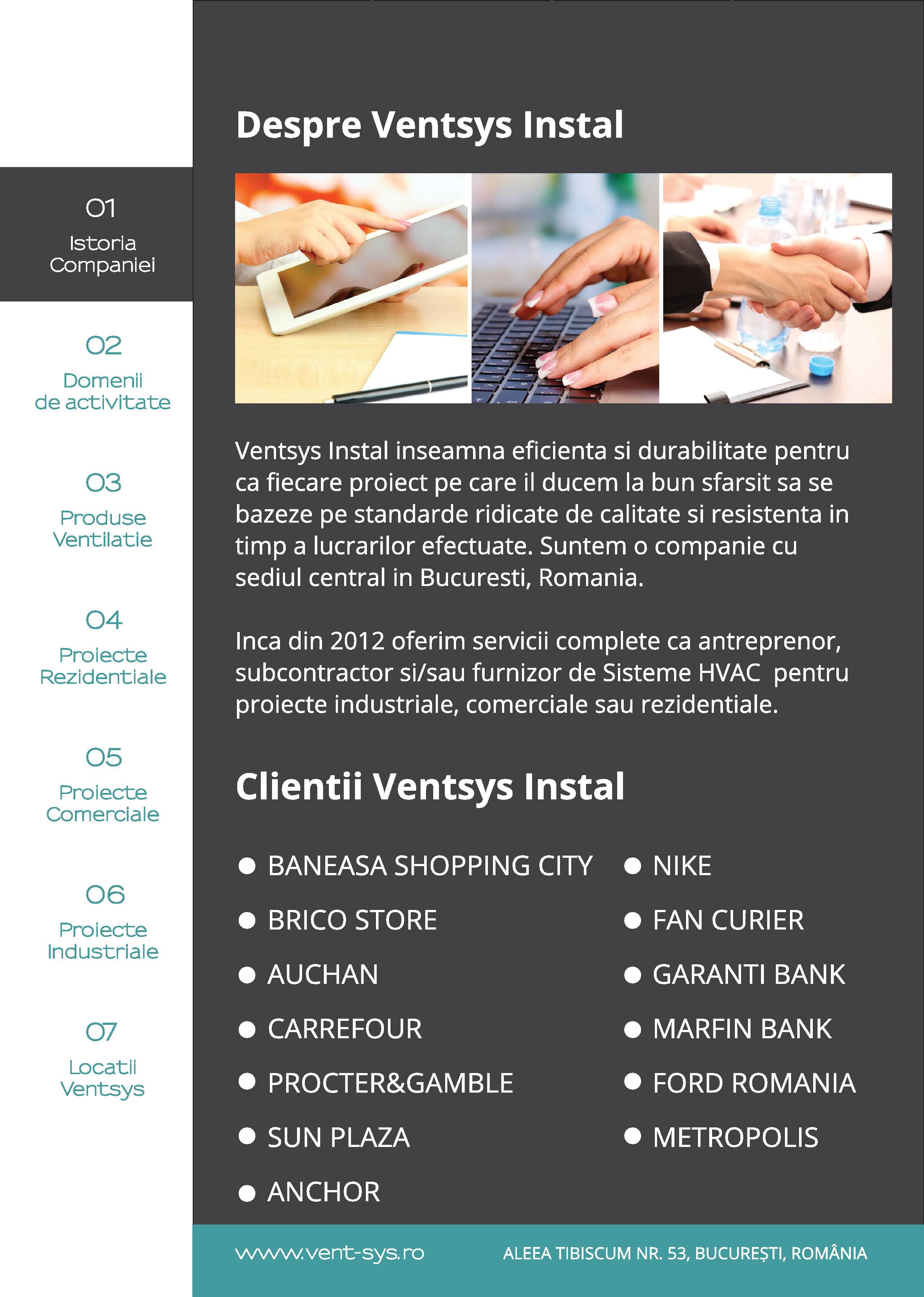 prezentare portofoliu VentSys Install