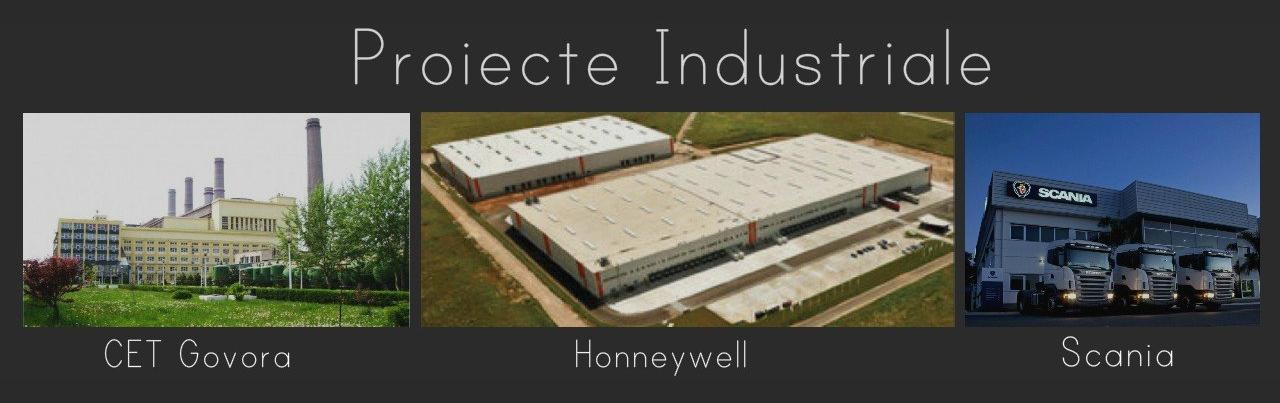 Proiecte industriale