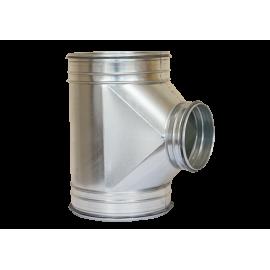 Racord  neizolat tip T 200x125x125 mm