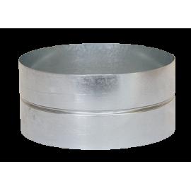 Conector SPIRO mufa-mufa D125mm