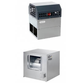 Ventilatoare rezistente la foc centrifugal BOX