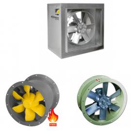 Ventilatoare rezistente la foc axial de tubulatura
