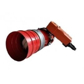 Clapeta antifoc circulara cu fuzibil