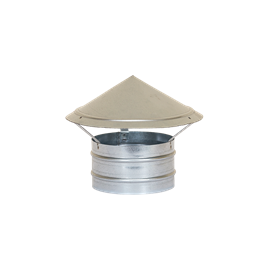 Caciula de ventilatie circulara